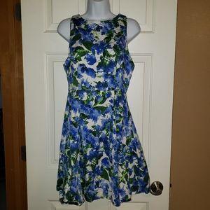 Flower Print Milly Dress